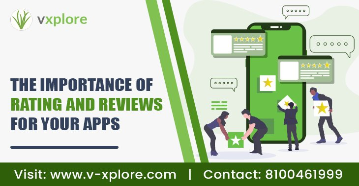 The Importance of Rating and Reviews For Your Apps